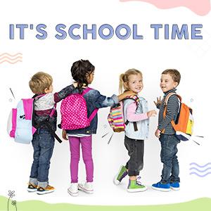 School Bags & Backpacks   Up To 12Y