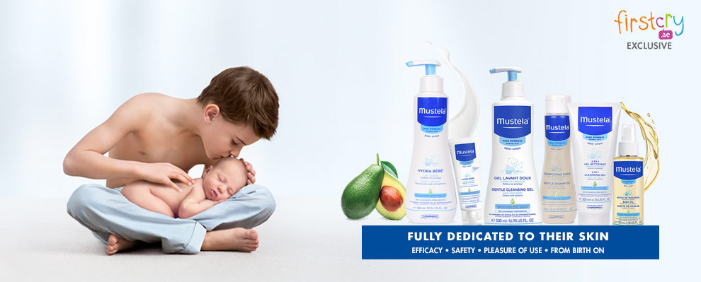 Mustela Fully Dedicated to their skin