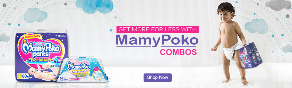 GET MORE FOR LESS WITH MamyPoko COMBOS