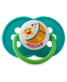 Pigeon Rubber Pacifier - Olive Green