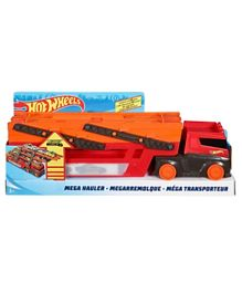 Hot Wheels Mega Hauler Rig - Red & Orange