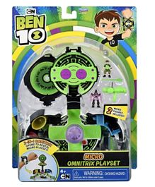 Ben 10 Inside The Omnitrix Micro World Playset - Green