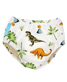Charlie Banana Reusable Swim Diaper Dinosaurs Extra Large - Multicolour