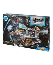 Hot Wheels Dc Bat cave Playset - Black