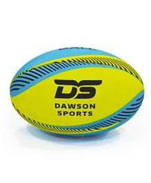 Dawson Sports Pro Beach Rugby Ball - Blue & Yellow