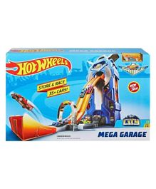 Hot Wheels City Mega Garage- Multicolour