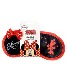 Poplar Linens Minnie Mouse Eye Mask - Red