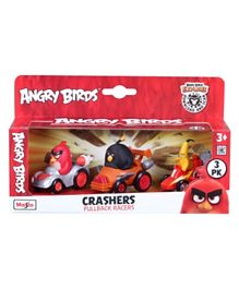 Angry Birds 2.5 Crasher Toys- Pack of 3 (Colour and Design may vary)