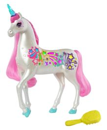 Barbie Dreamtopia Brush n Sparkle Unicorn - White