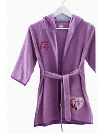 Disney Kids Premium Cotton Bathrobe Frozen 2 - Purple