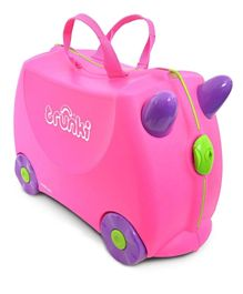 Trunki Original  Trixie Kids Ride-On Suitcase And Carry On Luggage - Pink