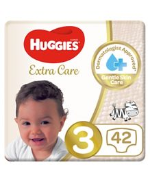 Huggies Ultra Comfort Diapers Size 3 - 42 Diapers