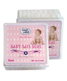 Cool & Cool Baby Safe Buds - 55 Pieces