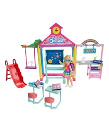 Barbie Club Chelsea Doll and School Playset - Multicolour