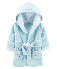 Carter's Hooded Robe - Blue
