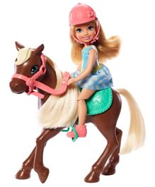 Barbie Club Chelsea Doll and Pony - Multicolour