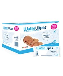 WaterWipes Baby Wipes Mega Value Box - 12 X 60
