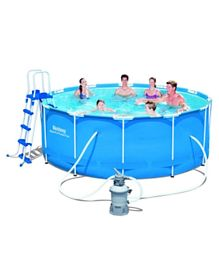 Bestway Steel Pro Round Pool Set - 12 Feet by 48 Inches