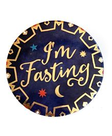 Party Camel I'm Fasting Badge - 7 cm
