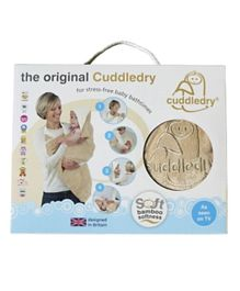 Cuddledry Hooded Hands Free Baby Bath Towel - Oatmeal