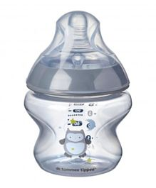 Tommee Tippee Closer To Nature Feeding Bottle Yellow - 150 ml