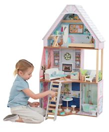 KidKraft Matilda Dollhouse with EZ Kraft Assembly - Multicolour