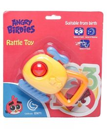 Angry Birds Helicopter Rattle Toy - Yellow