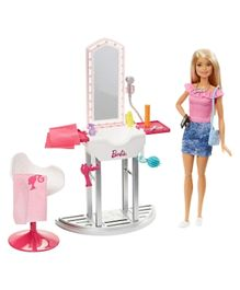 Barbie Salon and Doll Blonde - Multicolour