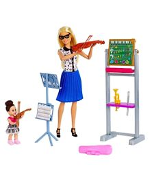 Barbie Careers Music Teacher Doll & Playset - Multicolour