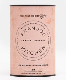 Franjos Kitchen Tanker Topper Biscuits – Fig and Almond - 252 grams