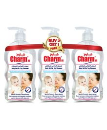Charmm Baby Bottle and Toy Cleanser Pack Of 3 - 650 ml Each