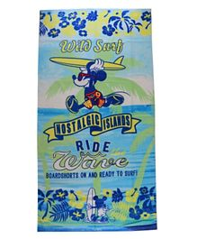 Disney Mickey Printed Beach Towel for Kids Boy - Mickey Mouse
