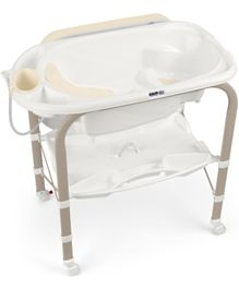 Cam Cambio Bath and  Changing Table Bear - White