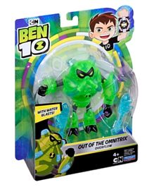 Ben 10 Deluxe Overflow Figure Out of The Omnitrix - Green