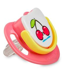 Pigeon Silicon Pacifier Step-3 (Cherry)  - Pink