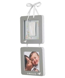 Baby Art Suspended Photo Frames - Grey