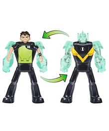 Ben 10 Deluxe Diamondhead Transforming Action Figure - Green