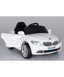 Megastar BMW Coupe Style Ride On Car - White