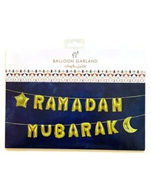 Party Camel Ramadan Mubarak Balloon Garland - 15 Inches