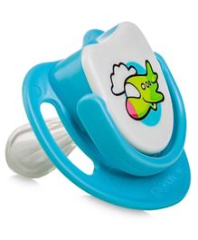 Pigeon Aeroplane Silicone Pacifier Step 2 - Blue