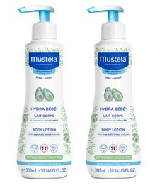 Mustela Moisturizing Body Lotion Pack of 2 - 300 ml each