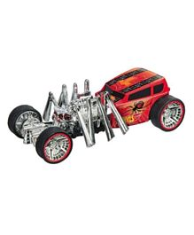 Hot Wheels Light & Sound Monster Action Creeper - Red