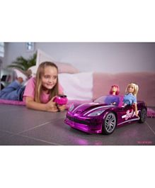 Barbie Remote Control Dream Car - Purple