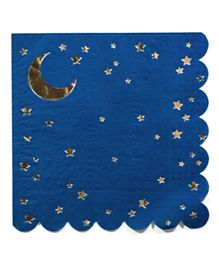 Party Camel Stars & Moon Napkins - Pack of 16