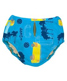 Charlie Banana Reusable Swim Diaper Malibu Large - Blue