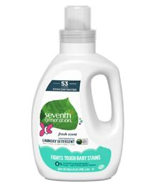 Seventh Generation Baby Liquid Laundry - 1.18 Litres