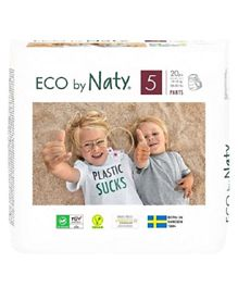 Naty Eco Pull On Pants Size 5 - 20 Pieces
