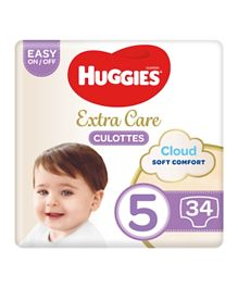 Huggies Active Baby Pants - 34 Pieces