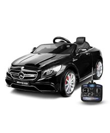 Megastar Mercedes SLS AMG Ride On Car With Remote Control - Black