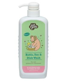 Just Gentle Bottle Toys & Dish Wash - 500 ml